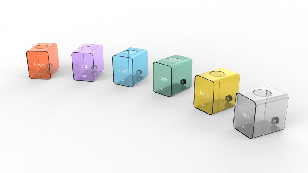 Capsule Mini Dishwasher Water Tank Colour Collection