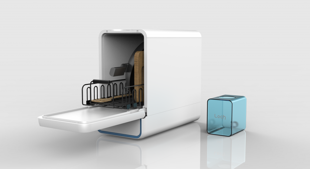 Features of the Capsule Dishwasher